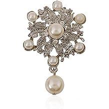 Wicemoon broche Brooch Lindo broche Broche de moda Bouquet Party Dress Brooch broches de bisuteria para ropa 55*35mm
