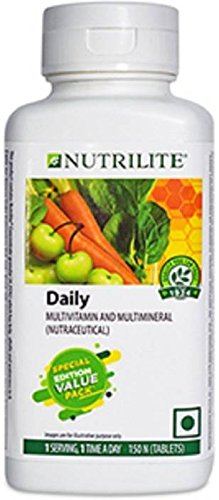 Amway Nutrilite Daily Multivitamin & Multimineral Supplement 120 + 30...