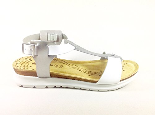 Branco Femininas Cinzento Multicolorida Inblu Sandálias U8FqYdW