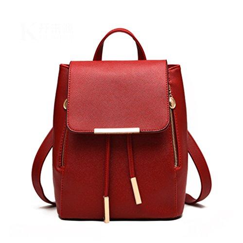 JSbetter, Borsa a zainetto donna Rosso rosso rosso
