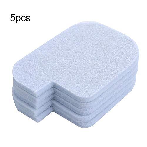 5 stücke Kettensäge Luftfilter Pad Rasenmäher Teile Zubehör Luftfilter Ersatz Weiß Platte Kit Trimmer MEHRWEG VERPACKUNG (Rasenmäher Luftfilter Poulan)