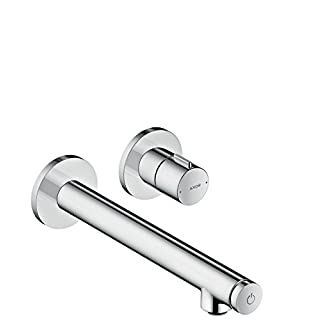 AXOR Uno Select Basin Tap, Wall-Mounted, chrome