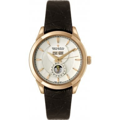Dreyfuss and Co DGS00070-06 Mens Rose Gold Moonphase Watch