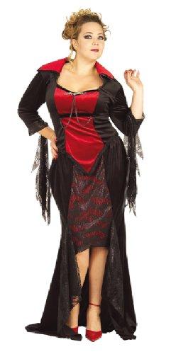 Rubie's Halloween Damen Kostüm Scarlett Vampir Vampirin Karneval ()