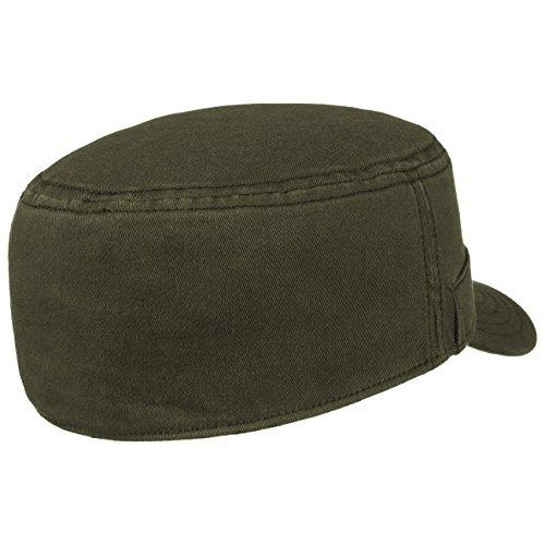 Casquette Flexform Army bugatti fitted cap militaire Olive
