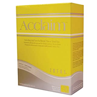 ACCLAIM ZOTOS PERM LOTION REGULAR PLUS EXTRA PROFESSIONAL HAIR SALON - EXTRA BODY