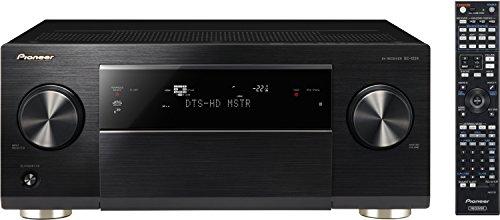 Pioneer SC-1224-K 7.2 Netzwerk AV-Receiver (200 Watt pro Kanal, Class-D-Endstufen, W-Lan und Bluetooth, App Steuerung, Airplay, DLNA, Internetradio, ESS Sabre D/A-Wandler, Gapless Wiedergabe, 3 Zonen, 4K Ultra HD Video Scaler) schwarz (Class-d Av-receiver)