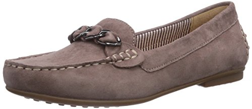 Gabor 24.202.14 Damen Slipper Beige (dark-nude), Gr. 37