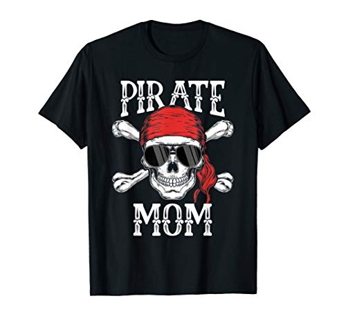 Piraten-Mom Jolly Roger Halloween-Kostüm - Herren Piraten Kostüm Tshirt