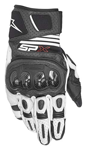 Alpinestars - Guanti Moto Sp X Air Carbon V2 Glove Black White - L