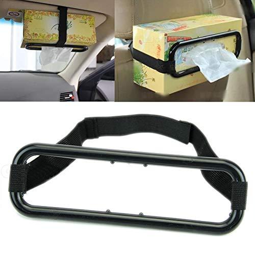 ulofpc Support de Voiture Portable Organisateur Accessoires Auto Voiture Pare-Soleil boîte de mouchoirs Titulaire Serviette siège Dossier