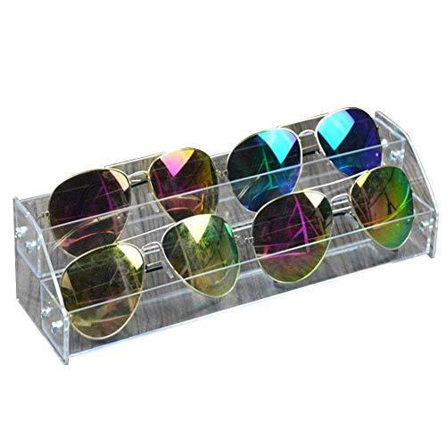 Fdit Acryl Sonnenbrille Organizer Multilayer Vitrine Tabletop Brillen Aufbewahrungsbox Durable Brillen Aufbewahrungsbox(#1)