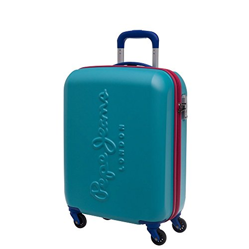 Pepe Jeans 749875 Tricolor Equipaje de Mano, 44 litros, Color Azul
