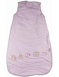 Sac de couchage pour bébé 2,5Tog différents styles 0-6m et 6-12M Lilas Bug-0-6mois