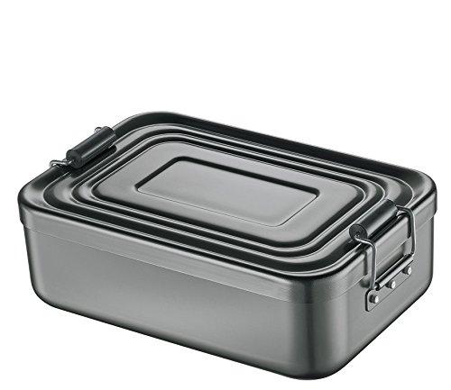 Kchenprofi-1001471323-Lunch-Box-gro-aluminium-anthrazit