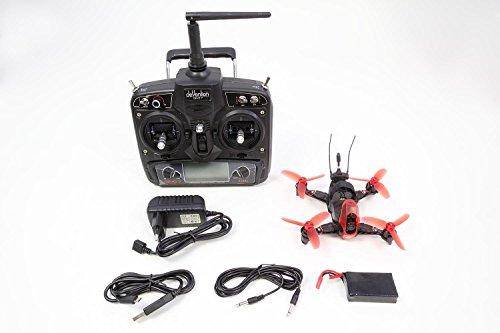 Walkera 15004100 - FPV Racing-Quadrocopter Rodeo 110 RTF - FPV-Drohne mit HD-Kamera, Akku, Ladegerät und Devo 7 Fernsteuerung - 2