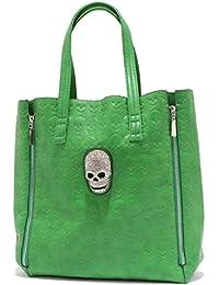 5515T borsa donna NO BRAND pelle effetto vintage handbag woman