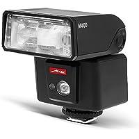 Metz mecablitz M400 für Olympus & Panasonic| Ultra-kompakter & leistungsstarker Systemblitz mit Leitzahl 40 | Made in Germany, OLED-Display, TTL, HSS | Ideales Zubehör für DSLRs & spiegellose Kameras