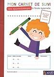 Mon carnet de suivi des apprentissages à l'école maternelle - Lot de 5 exemplaires