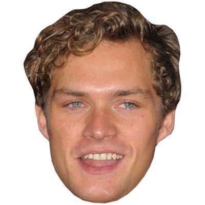 Finn Jones (2016) Maske aus Pappe