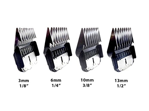 Masterclip Pedigree Pro Professional Dog Clipper Set with 4 Metal Comb Guards 3
