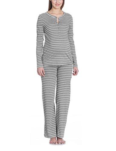 Bellybutton Damen Umstands Schlafanzugoberteil PHILINE - Schlafanzugshirt 1/1 Arm, Gestrei Preisvergleich