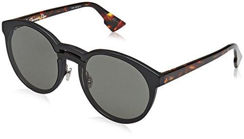 Dior Damen DIORONDE1 2K TAO 99 Sonnenbrille, Schwarz (Black Havana/Grey Ar),