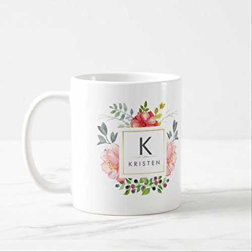 Girl Boss glitter quote Coffee mug