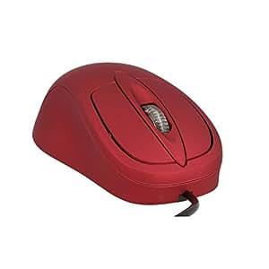 Comfortable Computing - Mouse riscaldato, colore: Rosso