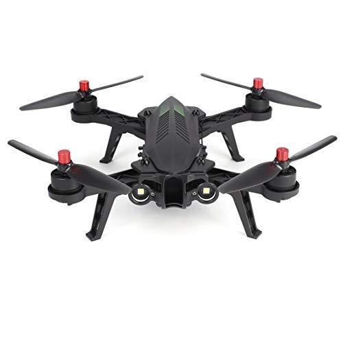 Mazur MJX Bugs 6 B6 2.4GHz 4CH 6 Ejes Gyro premontados RTF Racing Drone High Speed 1806 1800KV Motor sin escobillas RC Quadcopter (Color: Negro)