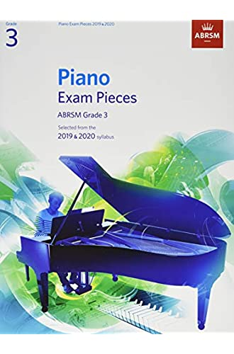 Piano Exam Pieces 2019 & 2020, ABRSM Grade 3: Selected from the 2019 & 2020 syllabus