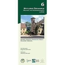 Blatt 6, Mittlerer Odenwald: Wander- und Radwanderkarte 1:20.000. Mit Bad König, Brensbach, Brombachtal, Erbach, Michelstadt und Mossautal (Odenwald ... und Naturpark Neckartal-Odenwald)