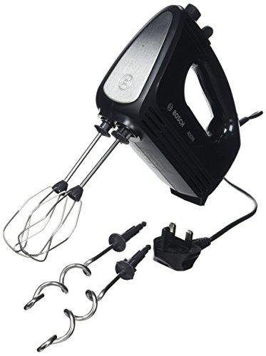 Bosch MFQ2420BGB Hand Mixer, 400 W, Black/Stainless Steel