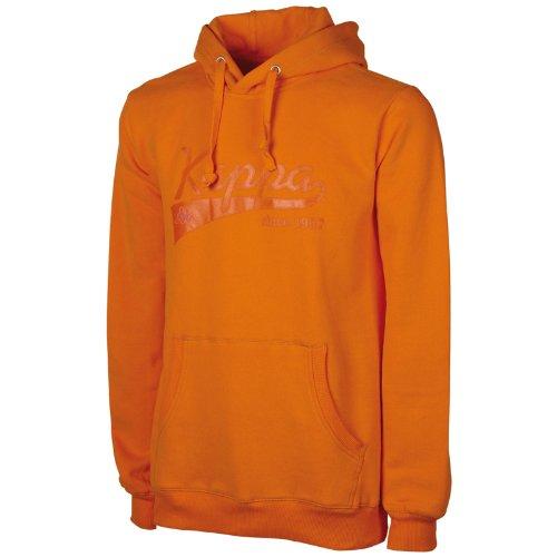 Kappa Unisexe Pull à capuche Narkotio avec intérieur brossé Orange