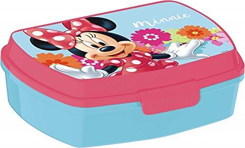 Disney Minnie Mouse Brotdose / Lunchbox / Sandwich Box - tolle Geschenkidee für Kinder - M02 (Minnie Mouse-großes Spielzeug-box Disney)