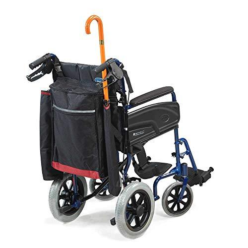 41mV5LzaJHL - NRS Healthcare - Sillas de ruedas y accesorios para moto, bolsas y cestas, color negro y borgoña