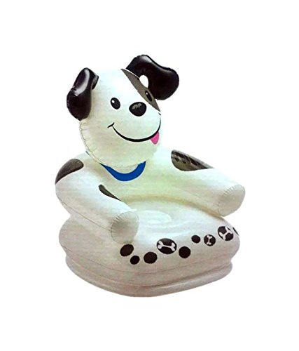 Sapro Teddy Bear Inflatable White Chair For Kids  available at amazon for Rs.449