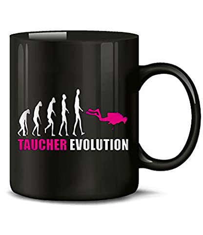 TAUCHER EVOLUTION 631(Schwarz-Pink)