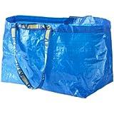 IKEA Einkaufstasche 'Frakta' DIE blaue Tasche mit 71 Litern Inhalt und 25kg Tragkraft