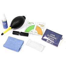 Cablematic - Kit limpieza fotografia 7 en 1 para lentes cámara objetivo