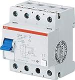 ABB Stotz S&J FI-Schutzschalter F204B+40/0,03 4P,TypB+,40A,30mA System Pro M Fehlerstrom-Schutzschalter 8012542042822