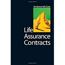 Life Assurance Contracts (New Title)