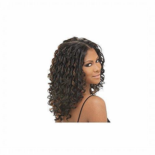 FreeTress Italian Curl Weave 14 Inch (env 36cm) long cheveux Couleur 1B/30