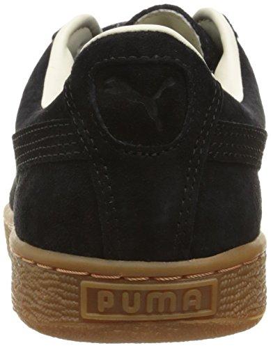 Puma Basket Classic Winterized Daim Baskets Puma Black