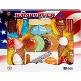 Varie - Set realista - Set de hamburguesa
