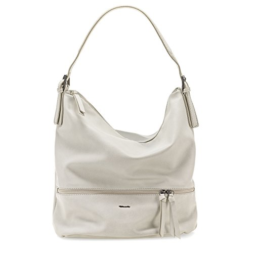 Borsetta Da Donna Tamaris Wendy, Cartella, Shopper, Forma Ovale Basic, 3 Colori: Bianco Offwhite, Pettine Marrone Scuro Antic Nero O Verde Menta