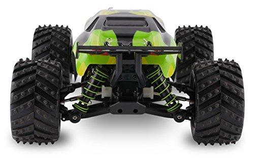 RC Auto kaufen Truggy Bild 6: Overmax X-Monster 3.0 Monster Truck ferngesteuertes RC Auto - unglaubliche 45 km/h schnell - 1:18 Maßstab - 2 Akkus - Allrad - 100m Reichweite- Buggy*