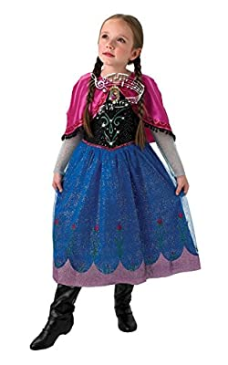 De Disney Frozen Anna Musical & Light Up - Childrens Disfraz por Rubies