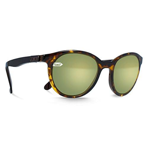 gloryfy unbreakable eyewear Sonnenbrille Gi19 42nd Street Sun gold havanna, schwarz braun