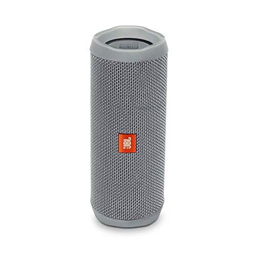 JBL Flip 4 - Altavoz inalámbrico portátil con Bluetooth, parlante resistente al agua (IPX7), JBL Connect+, hasta 12h de reproducción con sonido de alta fidelidad